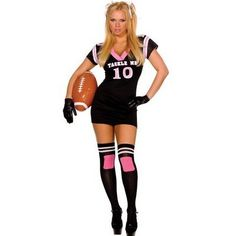 Sexy Halloween Costumes for Women | ... UH YUMP!!! sexy-football-player-halloween-costume – straitpinkie.com