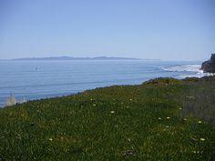 University of California, Santa Barbara --- View over Santa Barbara Channel Islands #UCSB #SantaBarbaraChannelIslands #SantaBarbara #California #USA