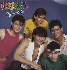 Ahhh Ricky Martin and Menudo! Could not understand a word they sang, but I loved them :-)