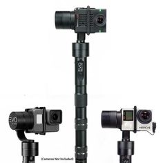 EVO GP-PRO 3 Axis GoPro Gimbal is our best selling stabilizer for Action cameras Works with GoPro thru Gp Pro, Gopro Camera, Camera Tips, Video Lighting, Best Camera, Hot Shoes, Evo, Stability, Gopro Kamera