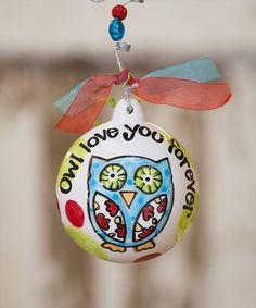 Look what I found on #zulily! Owl Ornament #zulilyfinds
