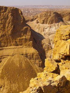 The mountains in Masada by Elena Beregatnova (Israel)