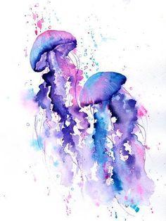 'Jellyfish' Art Print - Rachel McNaughton | Art.com