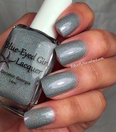 Blue-Eyed Girl Lacquer: Siren's Guiding Light (Siren Series) #blueeyedgirllacquer #begl #beglove #swatch #indiepolish #beglsiren