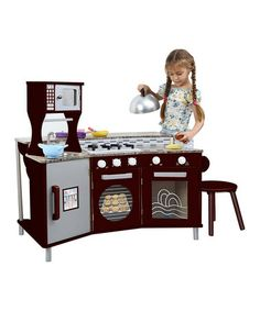 Take a look at this My Little Chef Faux Granite Play Kitchen Set by Teamson Design on #zulily today!