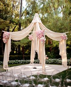 Outdoor Wedding Arches Ceremony Design | Photo: Samuel Lippke Studio // Design: Yifat Oren