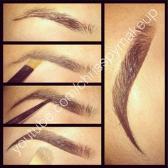This video is great for learning how to fill in your brows. http://www.youtube.com/watch?v=kxnqxI8kzec