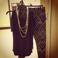 Today's #ootd is all about the glitz. #fashion #kohls