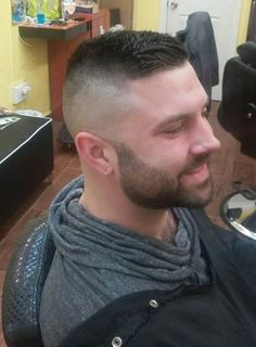 VISIT FOR MORE Man cuts and styles and a well-done shave and his hygienic care for a good look The post Man cuts and styles and a well-done shave and his hygienic care for a good lo appeared first on kurzhaarfrisuren. Latest Haircuts, Haircuts For Men, Military Haircuts, Short Hair Cuts, Short Hair Styles, High Fade Haircut, Undercut Hairstyles, Hair And Beard Styles, Mens High Fade
