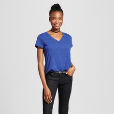 Fall is here and it's time to dress the part!  Below is a list of my favorite Fall fashions on a budget! Women's Short Sleeve Relaxed V-Neck T-Shirt – Mossimo Supply Co.™ from Tar…