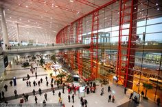 Top 10 Busiest Airports In The World.  8. Beijing Capital International Airport