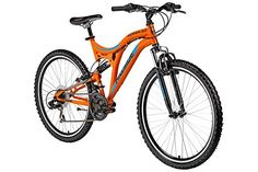Hillside Power 3.0 mountain bike 26'' bicycle MTB 21-speed Shimano Tourney gears, Fully, full suspension