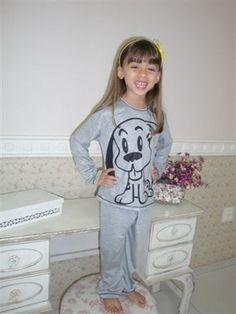 Editando produto: Pijama infantil cachorro mostrando lingua Amo Dormir (#2667255) - Loja Integrada