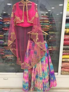 Our shrugs are the perfect strategy to moderately add affection to effectively clothing and still looking elegant. Pakistani Dresses, Indian Dresses, Indian Outfits, Lehenga Designs, Saree Blouse Designs, Half Saree Lehenga, Sarees, Pink Lehenga, Anarkali