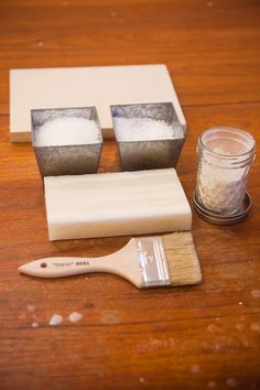 Encaustic Process - Using beeswax painted wood and a favorite photo to make an art piece.
