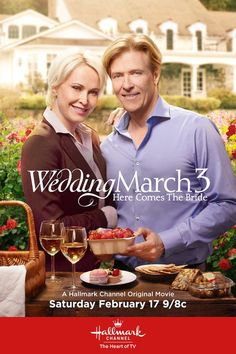 Wedding March 3 - Mick (Jack Wagner) and Olivia (Josie Bissett) planned to have a quiet Valentine's Day together… Find out if they did on February 17 at 9/8c!  #WeddingMarch3 #HallmarkChannel