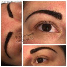 Beautiful eyebrow transformation with Cosmetic Tattoo