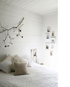Branch, & white