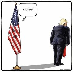 The poor flag, this poor country Political Cartoons, Trump Cartoons, Satire, American Flag, Donald Trump, Shit Happens, Humor, Pictures, Twitter