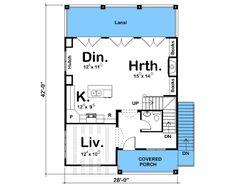 Seaside Sweetie - 62488DJ   Beach, Mediterranean, Narrow Lot, 1st Floor Master Suite, CAD Available, Drive Under Garage, PDF   Architectural Designs