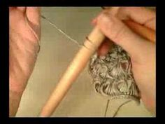 crochet broomstick lace tutorial