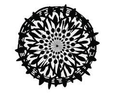 Placa Decorativa Mandala - 28cm