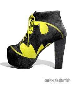 Batman shoes I need.