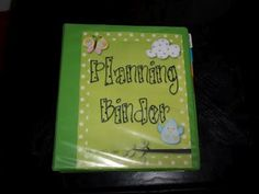 Planning Binder