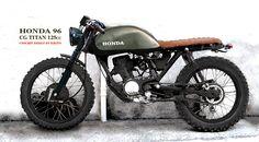 HONDA CG 96 Titan 125cc dirt