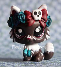 Cute Flower Kitty Cat ( Piaslittlecustoms OC) Littlest Pet Shop LPS custom:
