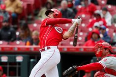 The Reds used a relief pitcher to pinch hit and he clubbed a monster 420-foot homer - April 6, 2017