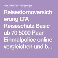 Reisestornoversicherung LTA Reiseschutz Basic ab 70 5000 Paar Einmalpolice online vergleichen und buchen. Boarding Pass, Couple, Vacation, Viajes