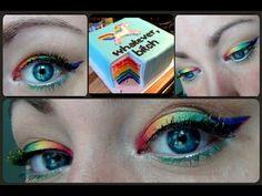 {VIDEO} Birthday Makeup / Parce que c'est mon anniversaire et pas celui de ta mère! Version Licorne - Elise.A Land