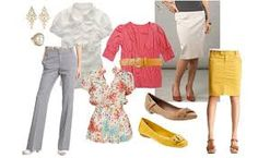 mix and match work clothes - Google Search