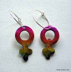 Øreringe. Earrings. Friendly plastic. Karin Schmidt, Friendly Plastic, Jewellery, Drop Earrings, Jewels, Schmuck, Drop Earring, Jewelry Shop, Jewlery