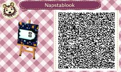 animalcrossing-nl-qrcodes:  Napstablook from Undertale