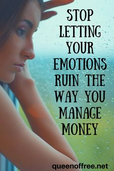 Learn to control your money emotions. Stop overspending with these simple practices.