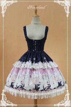 da19d2da55 Chiffon Elector Chest Lolita JSK Lolita Dress