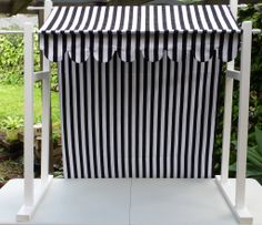 black canopy to hire from Candy Kisses Lolly Bar