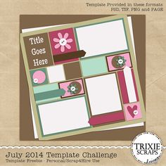 It's another wonderful Thursday here on the Trixie Scraps blog, that means it's time for another Challenge. Our challenge this week is a Template Challenge brought to you by none other than Trixie, herself. You can download the template here. This template just screamed at me to use a few recent pictures of my baby… Read More »