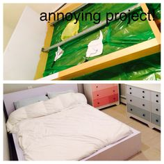 Ikea Bed Paint Project