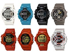 Wear something plain and wear a Casio G-Shock (September 2012) on your wrist!
