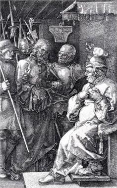 Christ Before Caiaphas - Albrecht Durer