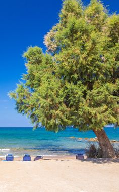 Stavromenos beach in Rethymno