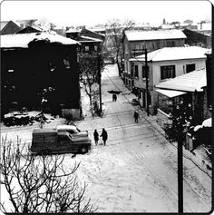 Kızıltoprak, Kadıköy, Istanbul. 1970s.