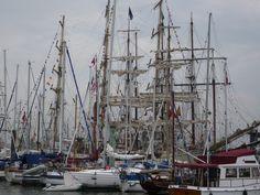 "Dutch nautical event ""Delfsail"" in Delfzijl, Groningen, The Netherlands"
