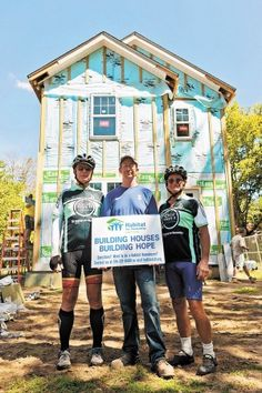 Cycling for Habitat for Humanity