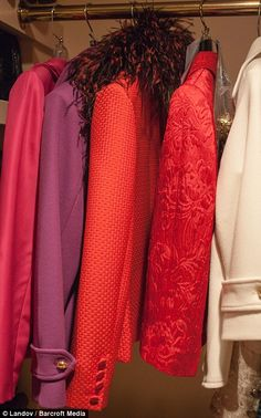 Fashion police officer: This is a sneak peek inside the decadent wardrobe of the Fashion P...