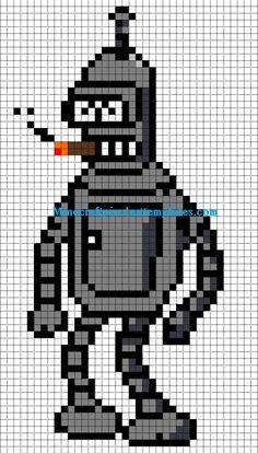 Bender hama perler beads pattern