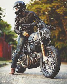 Visit a variety of my preferred builds - specialized scrambler designs like Motorcycle Images, Retro Motorcycle, Motorcycle Style, Motorcycle Outfit, Biker Style, Women Motorcycle, Motorcycle Quotes, Ducati Scrambler Custom, Bobber Custom